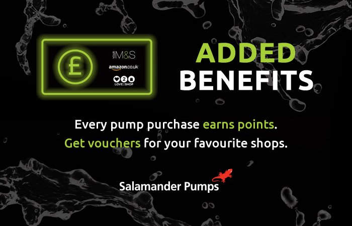 Salamander Pumps loyalty scheme launched article thumbnail