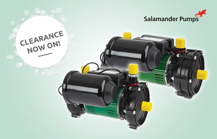 Clearance pricing on Salamander ESP50 and ESP75 pumps article thumbnail