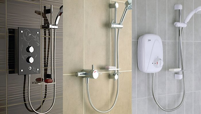 What are the different types of showers? article thumbnail