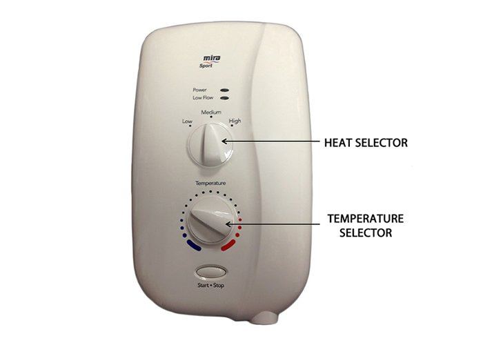 Seasonal effects on electric showers image 1