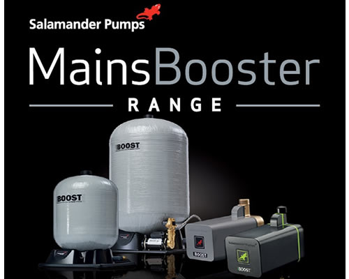 Salamander Pumps boosts its product offering with new MainsBooster range article thumbnail