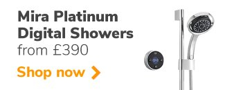 Lowest online prices on Mira's premium digital smart showers - the Platinum
