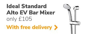 Ideal Standard Ecotherm bar mixer shower (A7255AA)