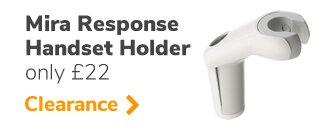 Mira Response shower head holder (411.23) - only genuine online seller