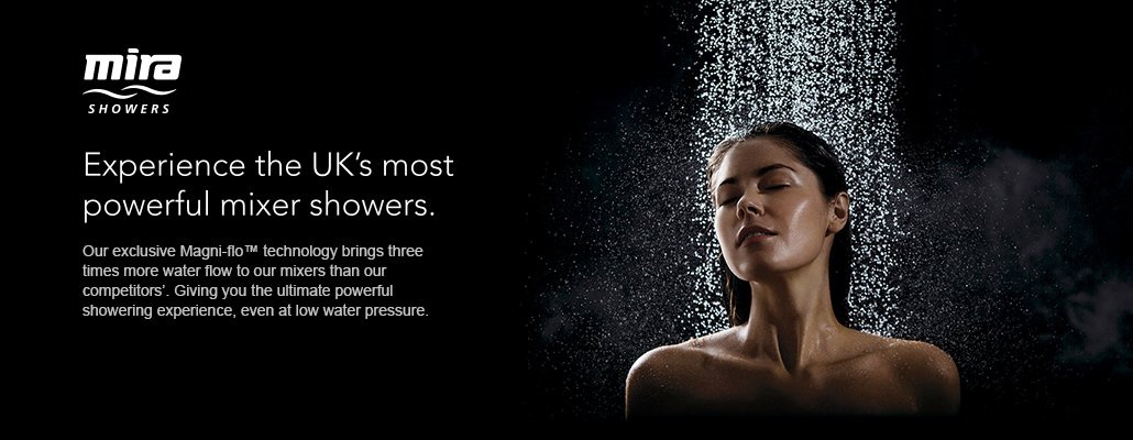 Mira mixer showers category banner