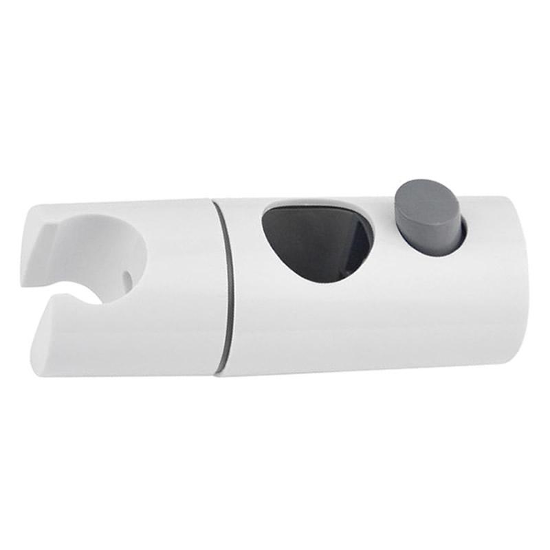 aqualisa quartz electric 25mm shower head holder white main image 1