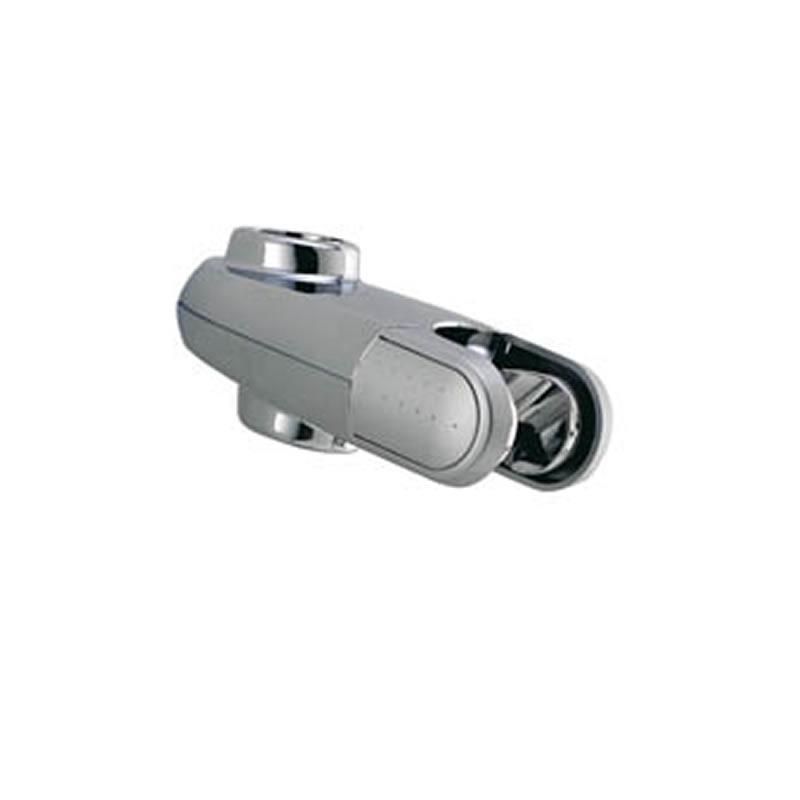 aqualisa 25mm shower head holder chrome main image 1
