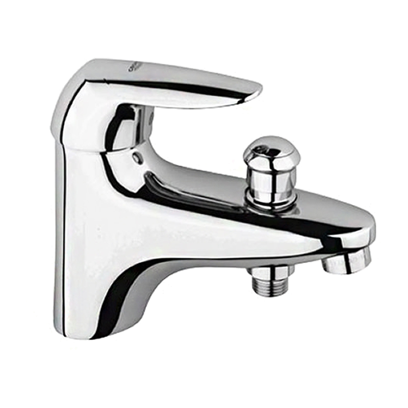 grohe eurodisc monobloc single lever bath shower mixer tap. Black Bedroom Furniture Sets. Home Design Ideas