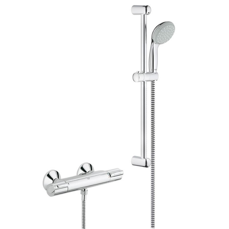 grohe grohtherm auto 1000 bar mixer shower grohe 34151. Black Bedroom Furniture Sets. Home Design Ideas