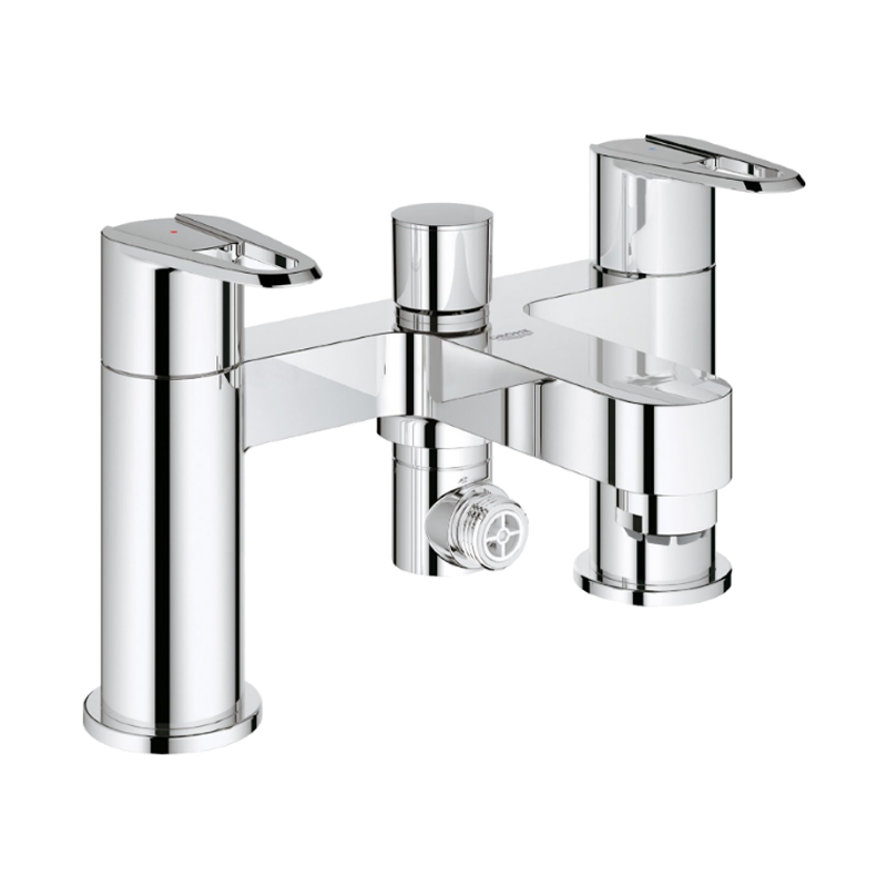 grohe touch cosmopolitan bath shower mixer chrome. Black Bedroom Furniture Sets. Home Design Ideas