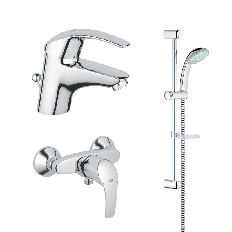 grohe eurosmart shower bundle grohe 116937 national shower spares. Black Bedroom Furniture Sets. Home Design Ideas