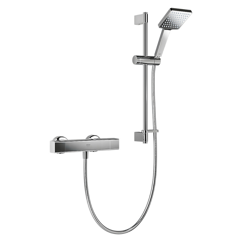Mira Honesty EV Thermostatic Bar Mixer Shower - Chrome | Mira 1.1901 ...