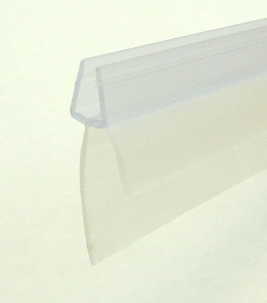 Nss Shower Screen Seal Large Gap To Suit 4mm Thick Glass