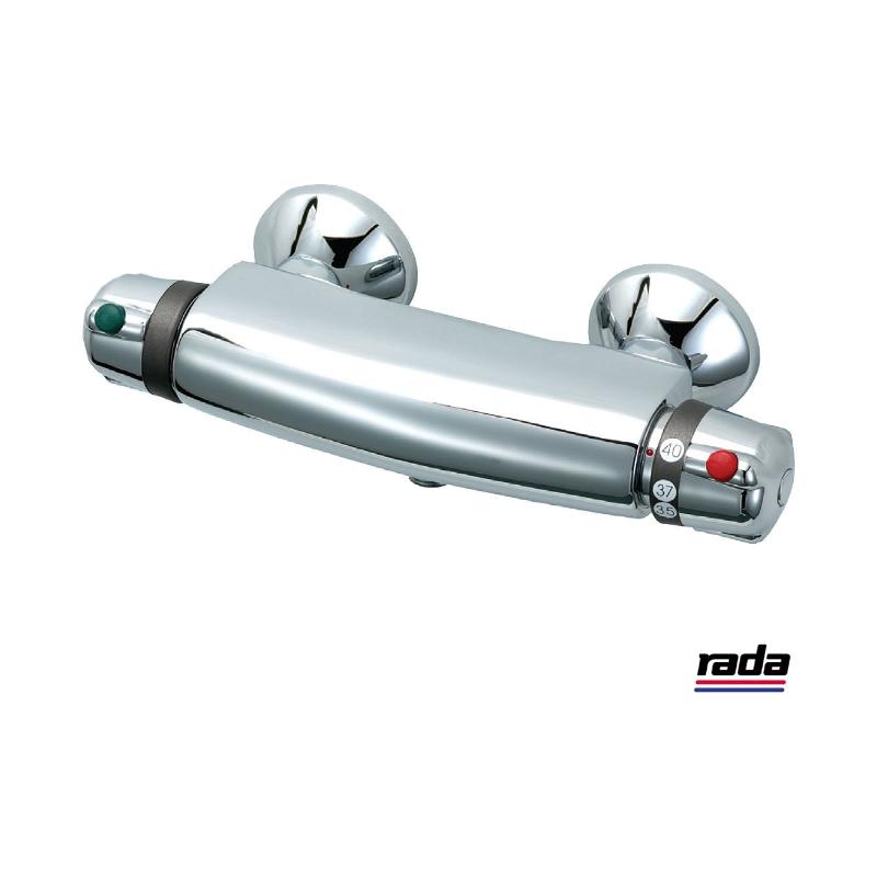 Rada Mira Revive-3 TMV3 thermostatic bar shower - valve only | Rada ...