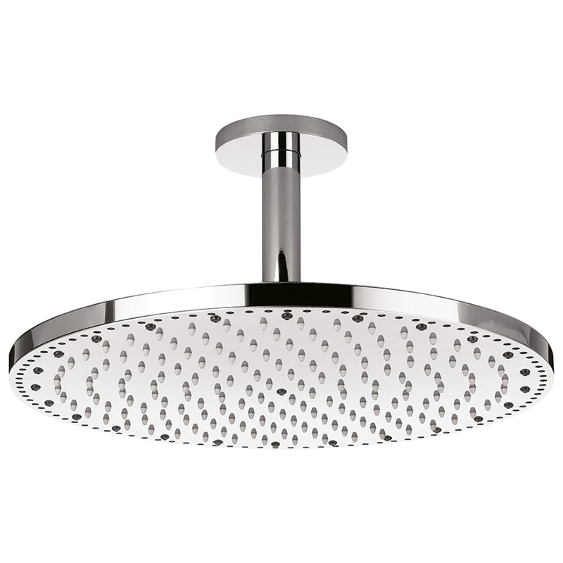 crosswater rio spectrum shower head with lights and ceiling arm fhx740c main image