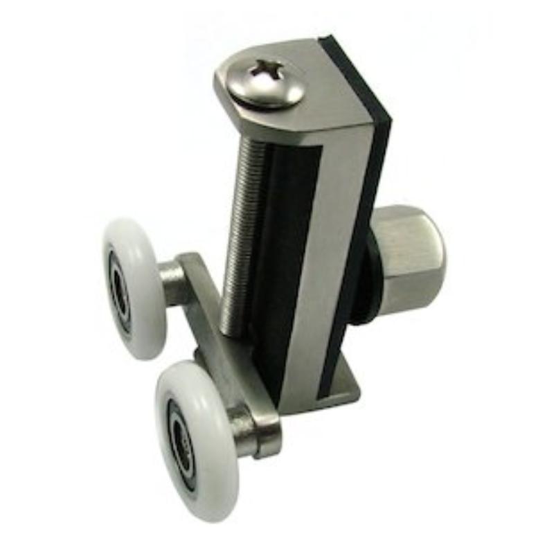 ... Uniwheel universal shower door runner (pair) (UNI-WHEEL) - main image ...  sc 1 st  National Shower Spares & Uniwheel universal shower door runner (pair) | Uniblade UNI-WHEEL ...