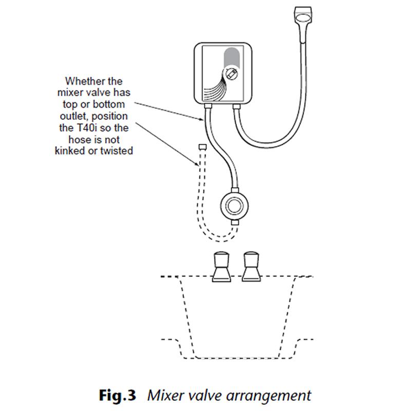 Triton T40i Bath Shower Mixer Booster Pump Triton T040004i National Shower Spares
