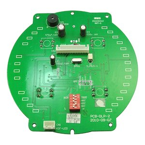 AKW Luda (white) large control PCB assembly (red LED) - 10.0kW (06-001-036) - main image 1