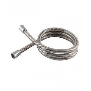 Aqualisa 1.25m plastic shower hose - chrome (235019) - main image 1