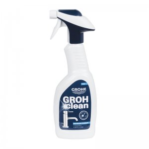 Grohe Grohclean bathroom cleaner for chrome taps and showers (500ml) (48166000) - main image 1