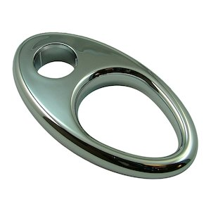 Mira Select 19mm shower hose retaining ring - chrome (617.10) - main image 1