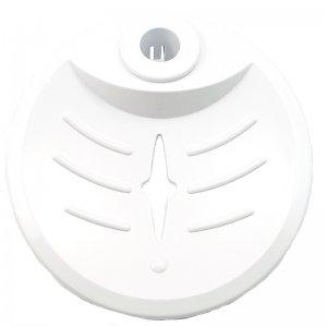 Triton Aaron 19mm soap dish - white (83310470) - main image 1