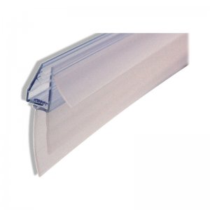 Uniblade 905mm universal shower screen seal to suit straight or curved 4-10mm glass (UNI-SEAL) - main image 1
