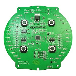 AKW Luda (white) large control PCB assembly (red LED) - 10.0kW (06-001-036) - main image 2