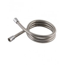 Aqualisa 1.25m plastic shower hose - chrome (235019)