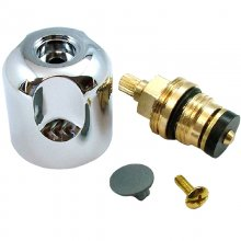 Aqualisa Midas 100 flow control valve & handle - Chrome (518102)