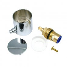 Aqualisa Midas flow cartridge assembly and control knob - high pressure (HP) - chrome (910214)