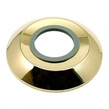 Aqualisa wall plate - Gold (215032)