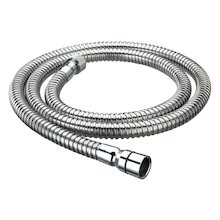 Bristan 1.50m shower hose - 8mm bore - chrome (HOS 150CN01 C)
