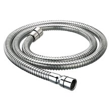 Bristan 1.50M shower hose - stainless steel - silver colour (HOS 150CC02 C)