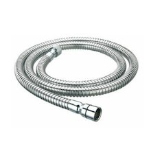 Bristan 1.50m metal shower hose - stainless steel (HOS 150CN02 CP)