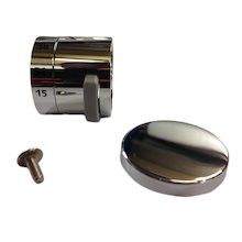 Bristan Artisan temperature control handle - chrome (00621763)
