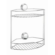 Croydex Twist 'N' Lock Plus two tier basket (QM370841)