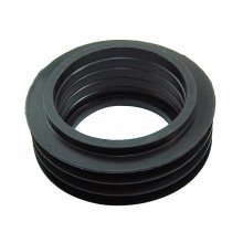 Geberit flush pipe seal - black fin 45mm (119.668.00.1)