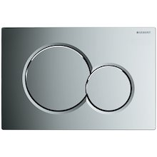 Geberit Sigma01 dual flush plate - bright chrome (115.770.21.5)
