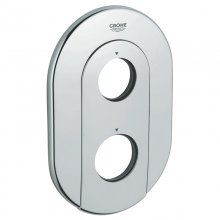 Grohe Grohtherm 3000 face plate - chrome (47526 000)