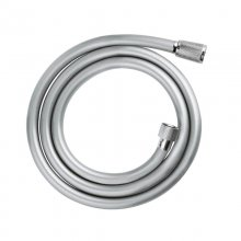 Grohe Relexaflex 1.50m pvc shower hose - satin chrome smooth (28151 001)