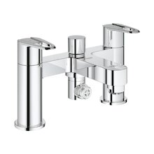 Buy New: Grohe Touch Cosmopolitan bath shower mixer - chrome (25143 000)