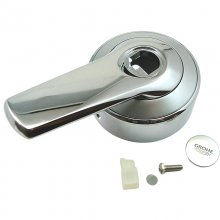 Grohe Avensys control lever assembly - chrome/satin (46349 IP0)