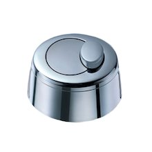 Grohe dual flush push button assembly - chrome (42204 IP0)