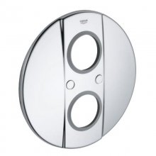 Grohe Grohtherm 2000 cover plate - chrome (47749 000)