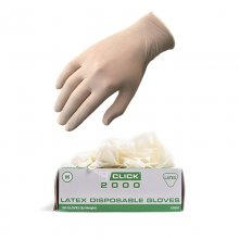 Hayes latex gloves (pack of 100) (445030)