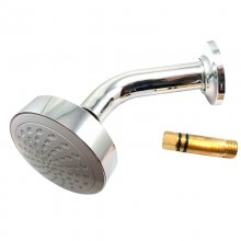 Mira Beat 90mm fixed shower head and arm chrome (1.1740.578)