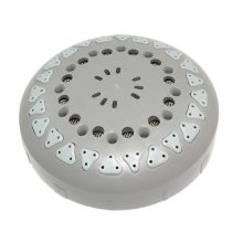 Mira Response power spray plate assembly - d/grey (413.59)