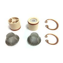 Mira check valve and strainer (pair) (423.04)