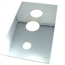 Mira Form concealing plate - Chrome (441.91)